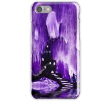 The Kings purple castle painting in wax iPhone Case/Skin