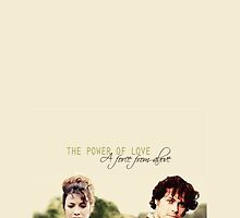 "Outlander - Jamie x Claire ""The power of love.."" by D. Abdel."