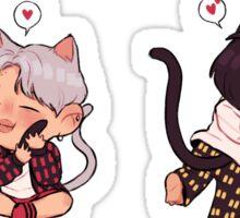 kitties Sticker