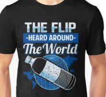 Water Bottle Flip Challenge School Trend Around World Shirt Unisex T-Shirt