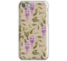 The Branches Of  Wisteria . iPhone Case/Skin