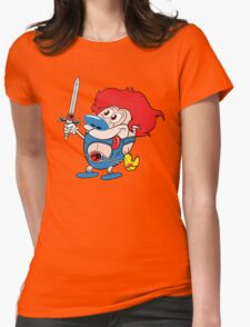 Stimp-o Womens Fitted T-Shirt