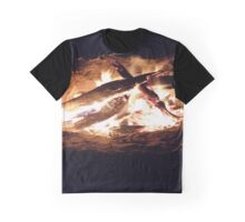 Camp fire Graphic T-Shirt