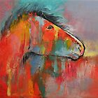 Red Horse by Michael Creese