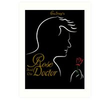 Rose and the Doctor Art Print