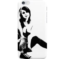 Vyola Stencil iPhone Case/Skin