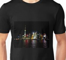 Shanghai at Night Unisex T-Shirt
