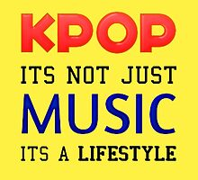 KPOP IS A LIFESTYLE - YELLOW by Cynthia Adinig