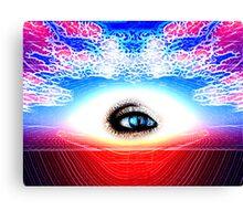 Spiritual Third Eye Image Canvas Print