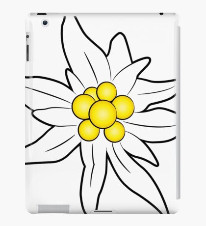 Edelweiss flower iPad Case/Skin