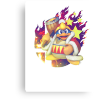 Smash Dedede Canvas Print