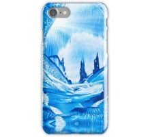 Valley of the castles painting iPhone Case/Skin