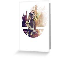 Smash Robin (Female) Greeting Card