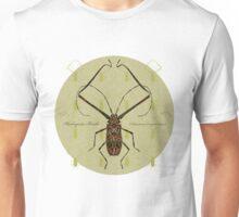 Harlequin Beetle Tshirt - w/background   Unisex T-Shirt