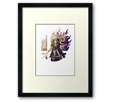 Smash Robin (Male) Framed Print