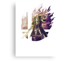 Smash Robin (Male) Canvas Print