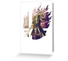 Smash Robin (Male) Greeting Card