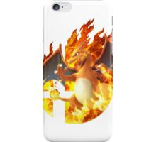 Smash Charizard iPhone Case/Skin