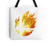 Super Smash Bros. Logo - Fire Tote Bag
