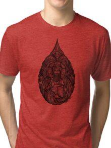"""""""Tertullian"""" Woodcut Tri-blend T-Shirt"""