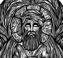 """Tertullian"" Woodcut Sticker"