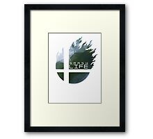 Smash Life Framed Print