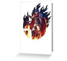 Smash Ike Greeting Card