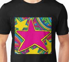 COLOURFUL STARS ILLUSTRATION Unisex T-Shirt