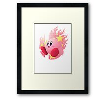 Smash Kirby Framed Print