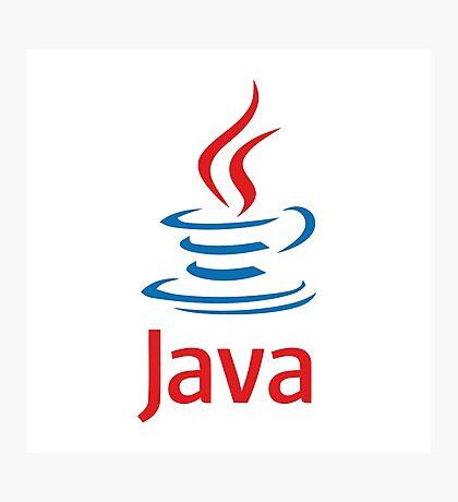 java programming language Photographic Print