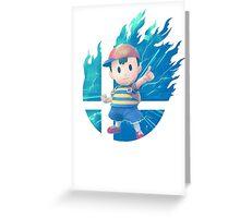 Smash Ness Greeting Card
