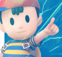 Smash Ness Sticker