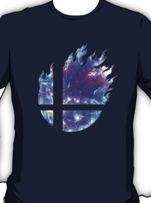 Super Smash Bros. Logo - Blue T-Shirt