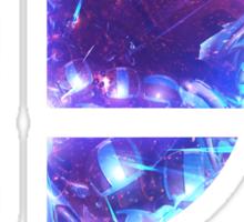 Super Smash Bros. Logo - Blue Sticker