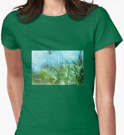 By the Sea Womens Fitted T-Shirt