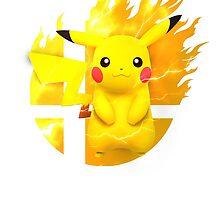 Smash Pikachu by Jp-3