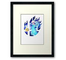 Smash Rosalina Framed Print