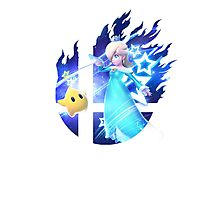 Smash Rosalina Photographic Print