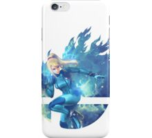 Smash Zero Suit Samus iPhone Case/Skin