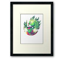 Smash Yoshi Framed Print