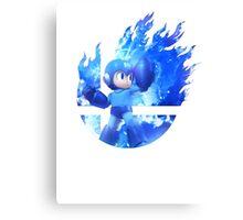 Smash Megaman Canvas Print