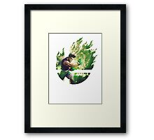Smash Little Mac Framed Print