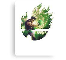 Smash Little Mac Canvas Print