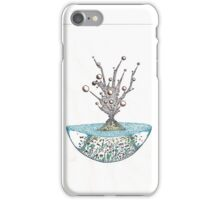 Abstract Alien Plant iPhone Case/Skin