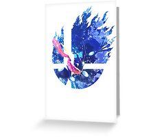 Smash Greninja Greeting Card