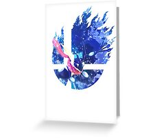 Smash Greninja Greeting Card
