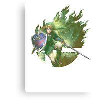 Smash Link Canvas Print
