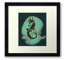 MEGA RAY!!! (Non-transparent) Framed Print