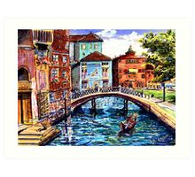 Perfect afternoon Art Print