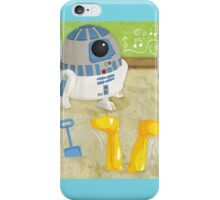 Star Wars babies - inspired by R2-D2 and C-3PO iPhone Case/Skin
